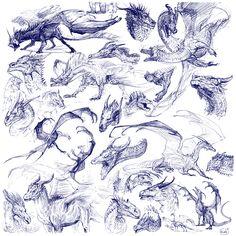 blue_line_sketches_by_grzanka-d9ggmtd.jpg (2040×2040)