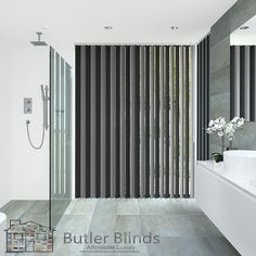 Amazing Low Prices On Vertical Blinds. Pay For The Width And Get The Drop FREE! Only At Butler Blinds. Shop Today! Butler, Blinds, Home Improvement, Bathtub, Drop, Inspirational, Curtains, Amazing, Ideas