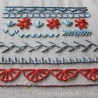 Hand Embroidery: Looped Stitches Sampler