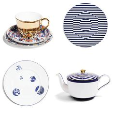 Bone China by Richard Brendon, available at Bergdorf Goodman | Lonny