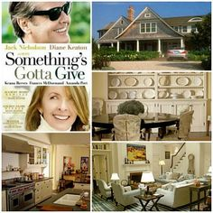 "A look inside the Beach House from ""Something's Gotta Give"""