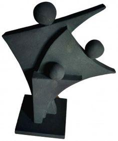 Le plus récent Images Sculpture abstraite Concepts Sculptures Céramiques, Art Sculpture, Stone Sculpture, Geometric Sculpture, Abstract Sculpture, Metal Art, Wood Art, Stone Art, Clay Art