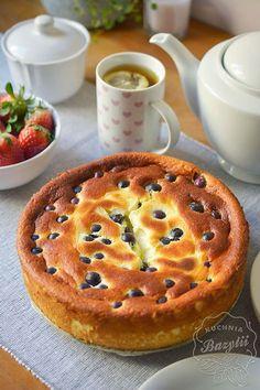 Sernik z jogurtów greckich - kuchniabazylii.pl - blog kulinarny