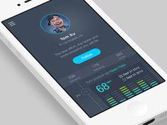 Fitness social app