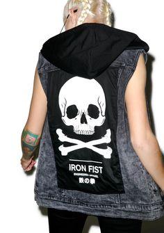 Iron Fist Engineered Sleeveless Trucker Vest | Dolls Kill