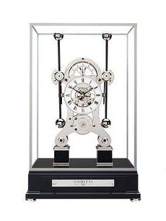Grasshopper clock - by famous clock maker John Harrison (1693-1776)