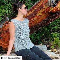 Looking for KAL for a beautiful summer top?  #Repost @erinmaesearl with @repostapp ・・・ SALE:  15% off shining Waters till the end of day march 12 I am also hosting a Shining Waters KAL starting today!  Please sign up in my ravelry group (link in profile)  Who wants summer? I know I do, I am tired of the dreary weather and want some sunshine in my life! To get ready for summer, what better way than to knit a lovely lace top. Shining Waters is the perfect top to get you in the mood for some…