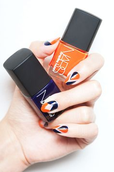 Loving manis with negative space.