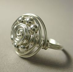 wire wrap ring   visit etsy com