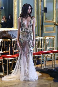 "sarasampaios: ""  Sara Sampaio backstage at Alberta Ferretti Haute Couture Show Fall/Winter 2016. """