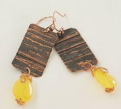 Handmade Design, Handmade Items, Copper Accessories, Hippy, Personalized Items, Boho, Gifts, Ebay, Italia