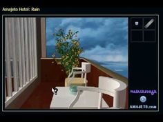 Amajeto Hotel: Rain Escape walkthrough-amajeto - Escaperooms -jeux de détentes