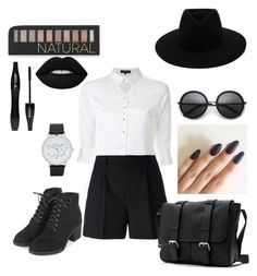 """""""Witch Style"""" by robertipox on Polyvore featuring moda, Loveless, Yves Saint Laurent, rag & bone, Topshop, ALDO, Forever 21, Lancôme e Lime Crime"""