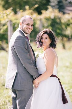 Couple Stacey and Jeremy get Hitched at Pop Up Wedding - The Hitching P'Oast. Venue: Niagara Oast House Brewers Photo by: Nataschia Wielink Niagara Region, Tie The Knots, Pop Up, Wedding Day, Couple Photos, Couples, House, Beautiful, Tying The Knots