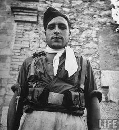 Spanish Loyalist soldier, Barcelona, Spain, by Margaret Bourke-White, 1939