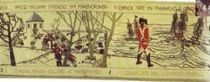 The last invasion of Britain by the French at Fishguard Regency, Britain, Tapestry, French, History, Painting, Art, Hanging Tapestry, Art Background