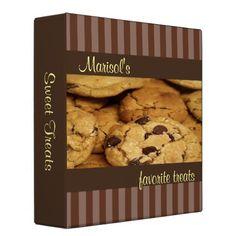 Chocolate Chip Cookies Recipe Binder