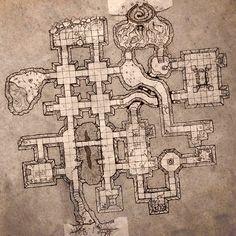 Small Dungeon Level. by billiambabble on deviantART