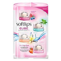 Softlips Cube - 4 Pack | Lip Balm Land