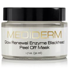 MediDerm Glow renewal Enzyme Blackhead Peel off Mask, 1.7 oz. >>> Want additional info? Click on the image.