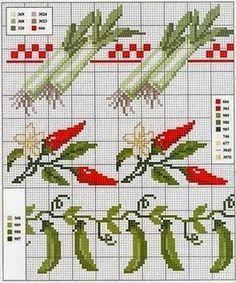 gráficos ponto cruz, legumes, frutas, cozinha, para bordar, Panos de Prato, Toalhas de Mesa, abóboras, caminho de mesa, cenoura, muranga, pimentas, abóboras em ponto cruz,