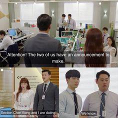 What's Wrong With Secretary Kim? Korean Drama Tv, Korean Drama Quotes, Korean Actors, Kdramas To Watch, Actor Quotes, Drama Funny, Web Drama, Kdrama Memes, Drame