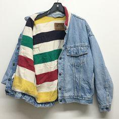 Levis Blanket Denim Jacket