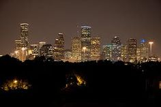 Downtown Houston Skyline at Night. Houston Skyline, Seattle Skyline, Texas, H Town, Houston Tx, How To Look Pretty, Stuff To Do, Places Ive Been, City