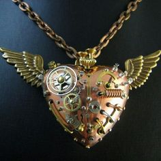 Gorgeous steampunk necklace