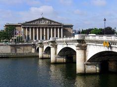 Paris VII Palais Bourbon pont de la concorde - Pont de la Concorde — Wikipédia