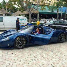 Taking my Maserati MC 12 for a drive today