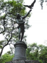 Central Park Monuments - The Falconer : NYC Parks