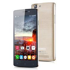 """Cubot X12 - Smartphone libre (pantalla 5"""", Cámara 8 Mp, Android 5.1, 64bit, Quad-Core, 8GB ROM, 4G LTE), Dorado Cubot"""