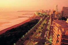 """Durban (Zulu: eThekwini, from itheku meaning """"bay/lagoon"""") is the largest city in the South African province of KwaZulu-Natal. Durban's metropolitan… Apartheid Museum, Audley Travel, Durban South Africa, Greece Holiday, Kwazulu Natal, Best Cities, Best Vacations, Amazing Destinations, World Heritage Sites"""