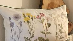 Wild Flower Cushion from 'Sass & Belle' Perfect for any comfy home - in store and on line