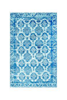 nuLOOM Floral Jannet Rug - Blue