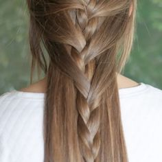 Hair Romance - Half French Braid hairstyle tutorial