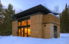 prefab modern cabin design