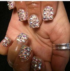 #crystals #nails #swarovski Swarovski Swan, Swarovski Nails, Swarovski Jewelry, Swarovski Crystals, Swan Necklace, Fashion Necklace, Diamond Earrings, Pendants, Bracelets