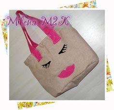 Milena M2K: Bolsa Cilios e Boca para minha Mirellinha