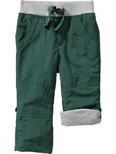 Pull-On Nylon Pants for Baby