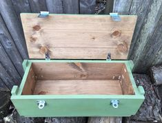 Military Ammo Box Crate Version Choose an optionDIY Kit DIY Kit Unfinished BoxFinished Box StainedFinished Box GreenFinished Box StainedFinished Box GreenFinish Pallet Crates, Wood Crates, Wooden Boxes, Woodworking As A Hobby, Woodworking Projects Diy, Woodworking Plans, Crate Side Table, Crate Bench, Military Box