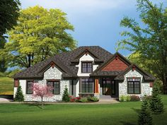 ePlans Craftsman House Plan –3189 Square Feet and 4 Bedrooms from ePlans – House Plan Code HWEPL75822