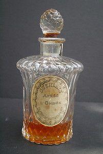 """Vintage Guerlain Apres L'Ondee Perfume Bottle 4 1 2"""""""