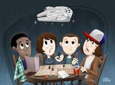 Stranger Things tem�inspira��o em in�meras refer�ncias dos anos 1980, entre ET, Os Goonies, Poltergeist, Alien,…