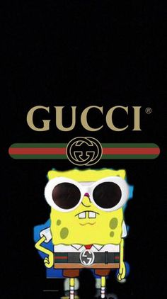 ownload Gucci spongebob Wallpaper by – 52 – Free on ZEDGE™ now…. Spongebob Iphone Wallpaper, Gucci Wallpaper Iphone, Hype Wallpaper, Disney Phone Wallpaper, Iphone Background Wallpaper, Trippy Wallpaper, Aesthetic Iphone Wallpaper, Iphone Backgrounds, Iphone Wallpapers