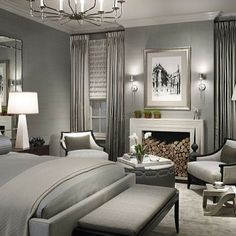 For The Home, At Home, Dream Bedroom, Master Bedroom Design, In The Bedroom,  Master Bedroom Decorating Ideas, Bedroom Interior Design, Master Room, ...