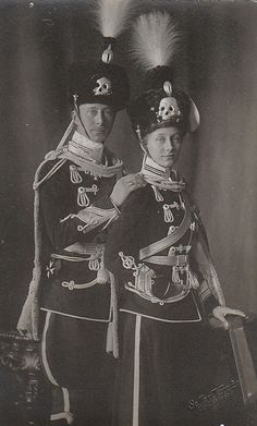 Kronprinz Wilhelm von Preussen mit seiner Schwester Viktoria Luise | Flickr - Photo Sharing!