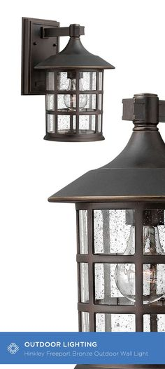 This Freeport Outdoor Lantern features a classic New England design in cast aluminum construction for timeless, traditional style. The oil rubbed bronze finish and the clear seedy glass adds to the visual interest of this Freeport lantern. Rated for wet l