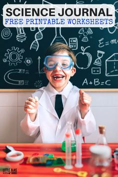 Free science worksheets for the best science experiments. Also free printable science journal pages for kids. Extend your science experiments with printable scientific method sheets, design process sheet, STEM challenge worksheet, science journal pages, backyard jungle project and more! Perfect for kids science lessons.